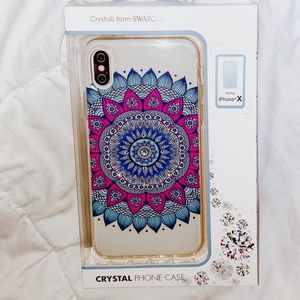 ⭐️NWT⭐️ Swarovski IPhone X Clear Phone Case